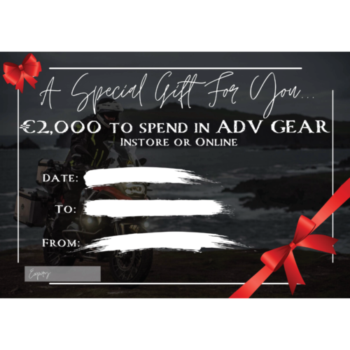 ADV GEAR Ultimate €2000 Voucher