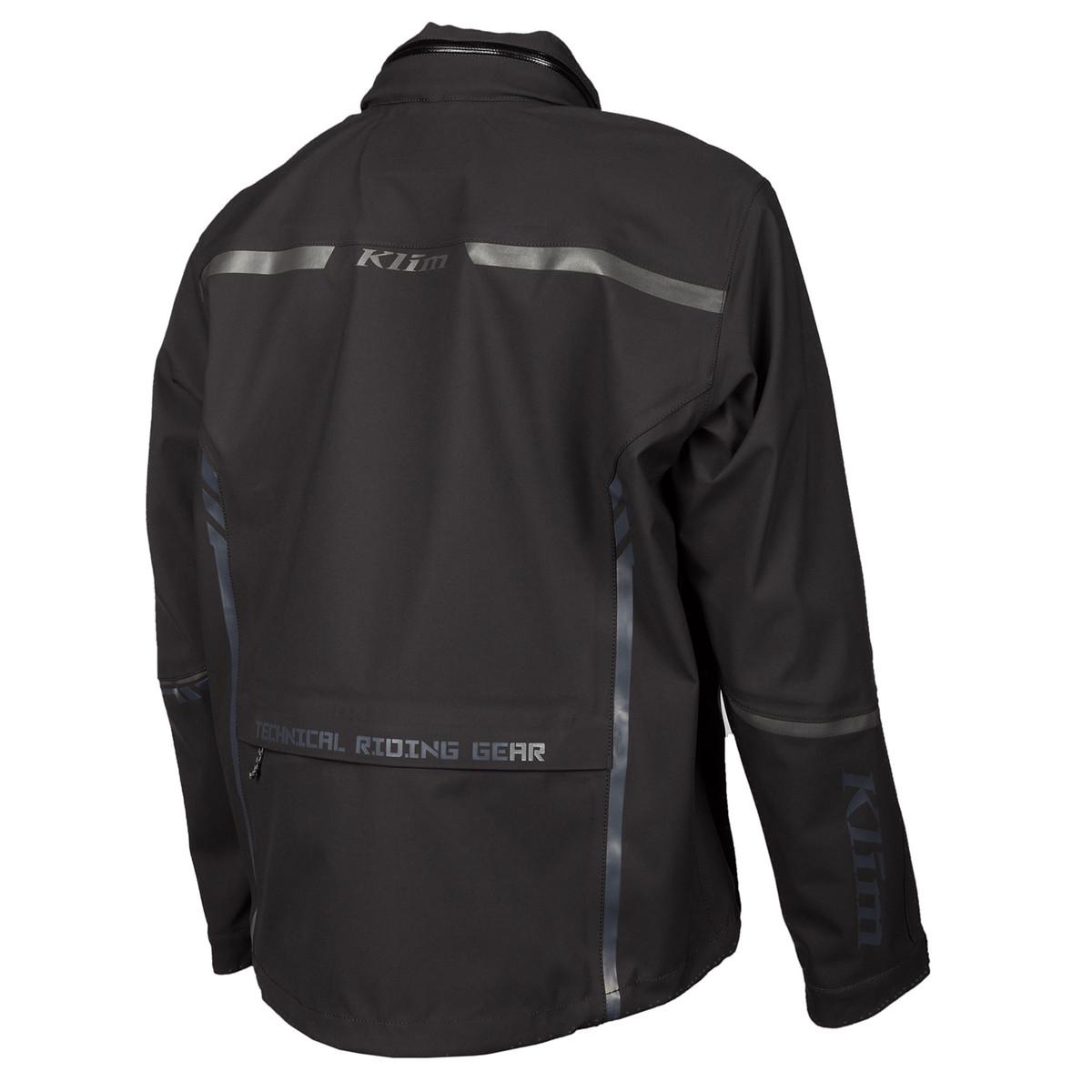 Enduro S4 Jacket Black Back