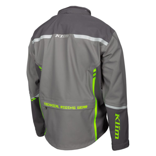 Enduro S4 Jacket Castlerock Gray - Electrik Gecko Back