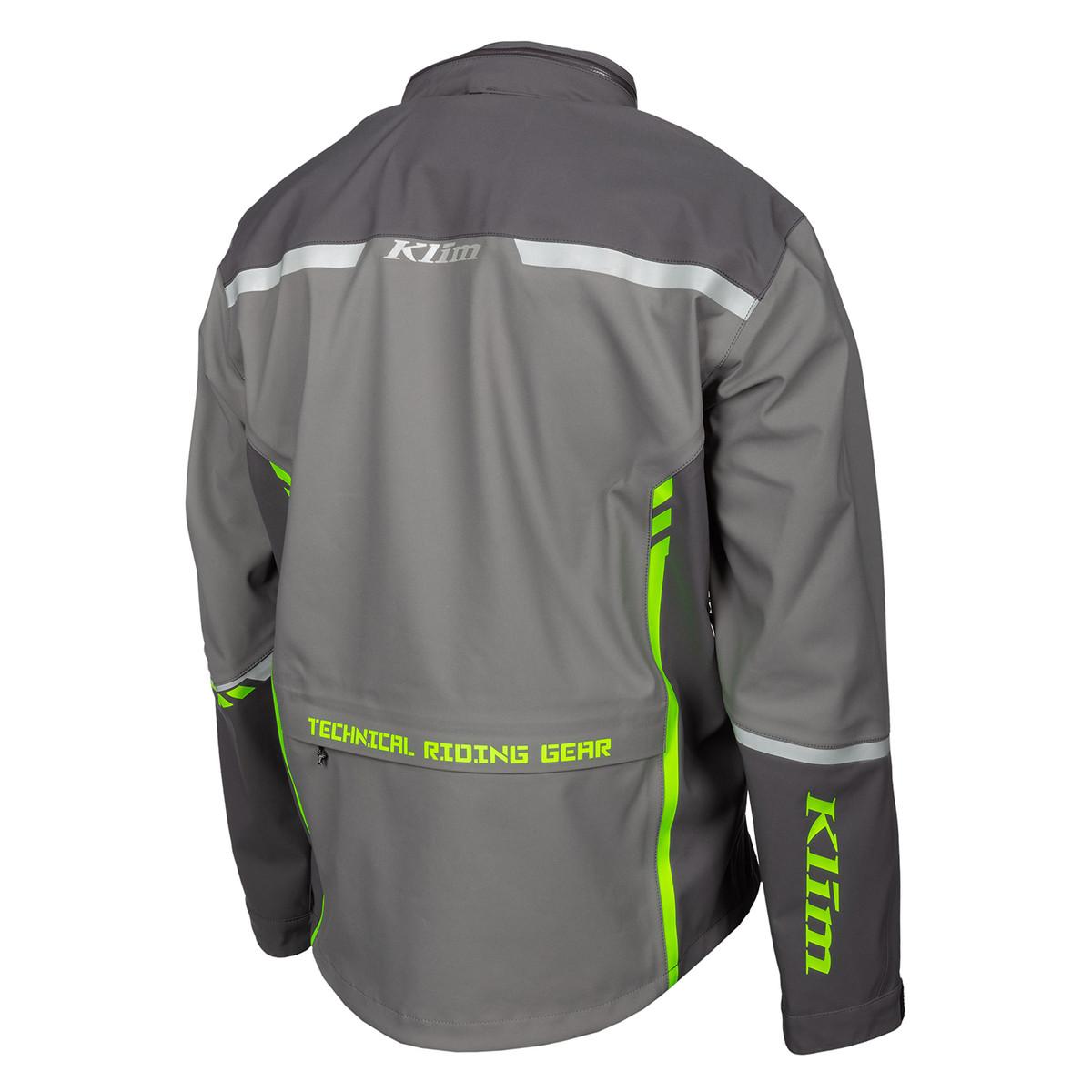 Enduro S4 Jacket Castlerock Gray - Electrik Gecko Back