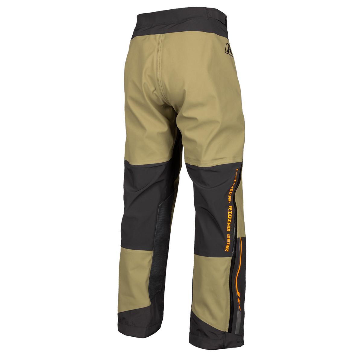 Enduro S4 Pant Burnt Orange Back