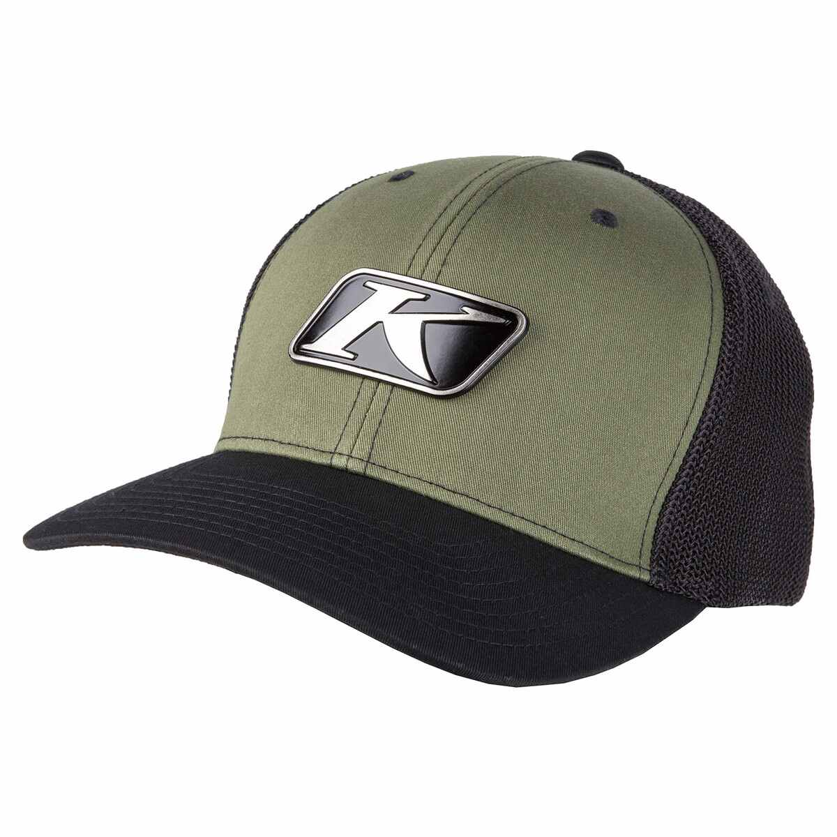 Icon Snap Hat Green & Black