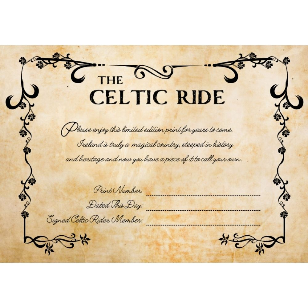 Mystic Poster Certificate