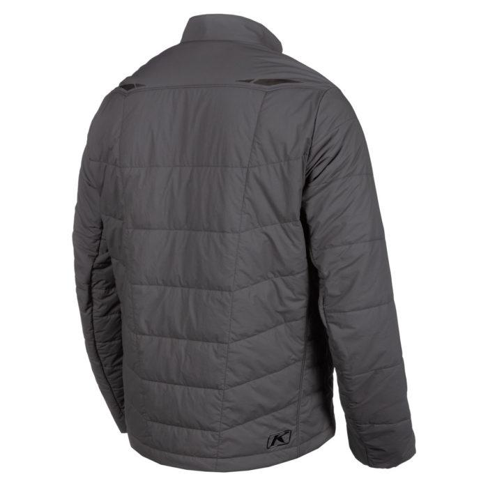 Override Jacket Asphalt Back