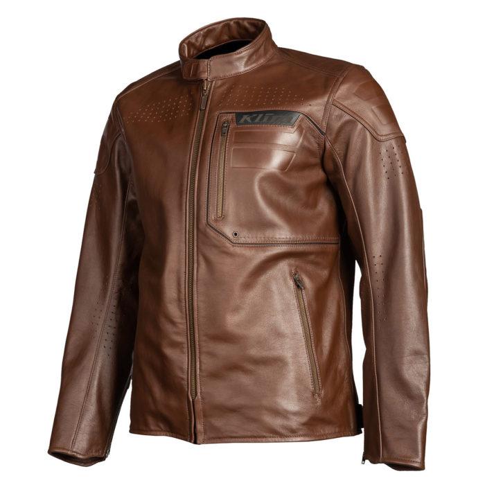 Sixxer Brown Leather Jacket
